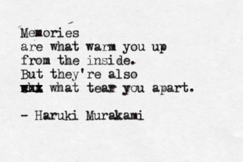 Murakami - memories