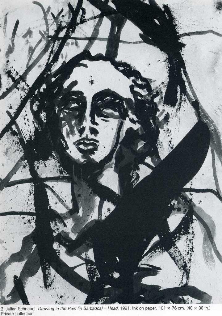 art : Julian Schnabel   1987