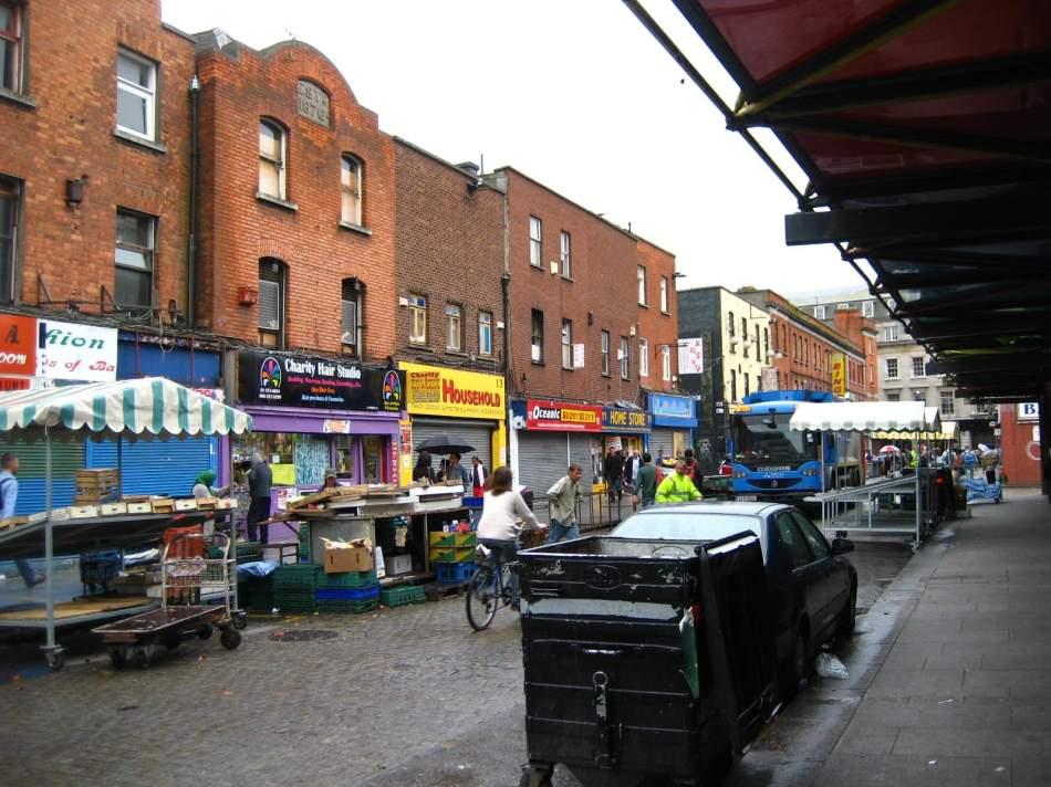 photo perso  quartier chinois  de Dublin - 2007