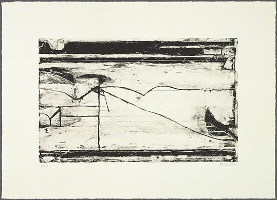 graphique: Richard Diebenkorn: sans titre 1993