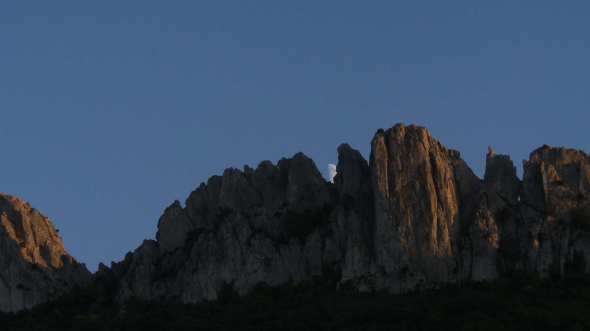 photo perso.  Dentelles de Montmirail - octobre 2015