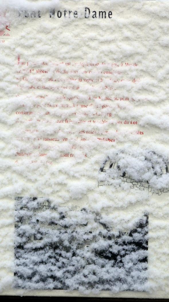 I- neige panneau
