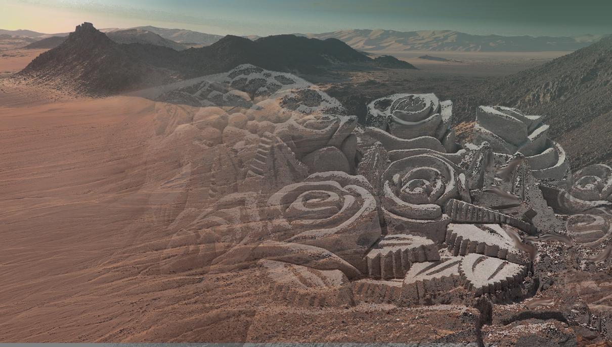 desert roses -