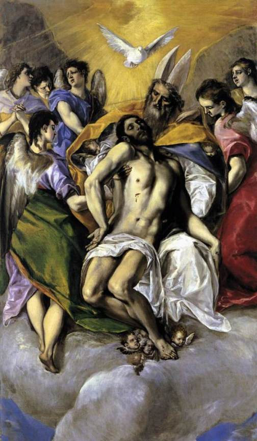 El Greco - The Holy Trinity