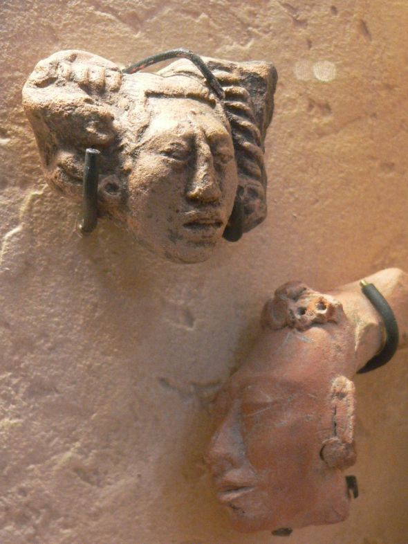 Maya Figurines Preclassic Period 1800 BCE-250 CE (8) 411522480