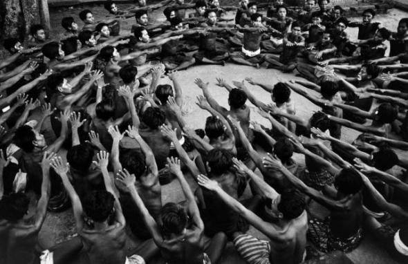 8256781840_73baf21c04 Haas, Ernst _1921-1986_ - 1956 Ceremonial Dance, Bali.jpg