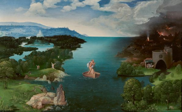 Joachim Patinir, Crossing the River Styx, 1515-24 14075791280.jpg