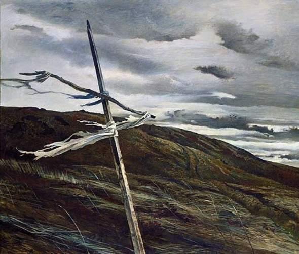 peinture: Adrew Wyeth Dodges Ridge