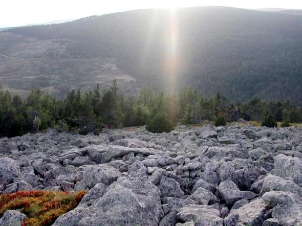 Mt Lozere rochers rayon--.JPG