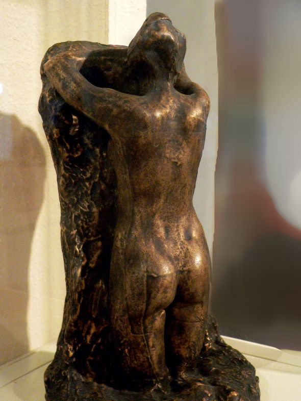Sorrow by Auguste Rodin was produced by the lost-wax bronze casting method 389260328.jpg