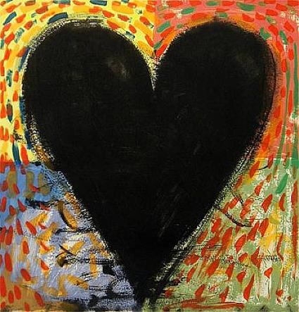 """Résultat de recherche d'images pour """"jim dine heart"""""""