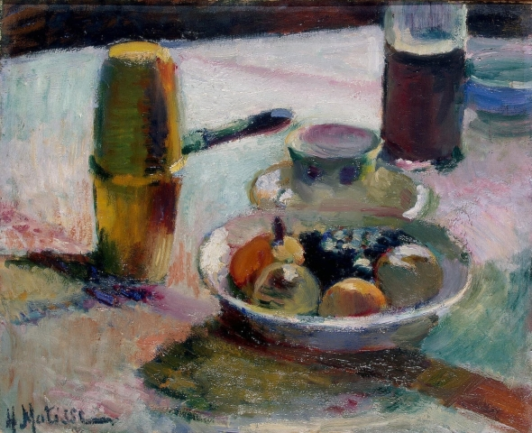 Henri Matisse - Fruit and Coffeepot [c.1898] 4808268332.jpg