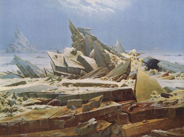 nadzieja w lodach [morze lodu] (Caspar David Friedrich)