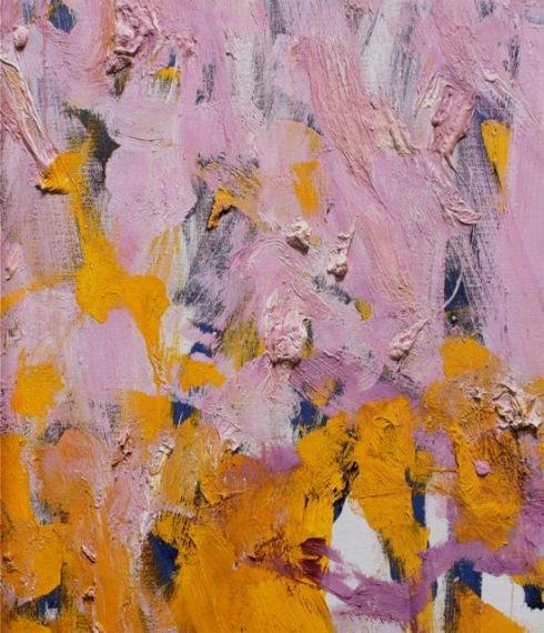 Joan Mitchell Two Pianos