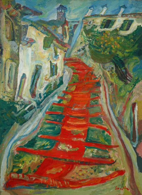 Soutine_Red-Stairway-at-Cagnes