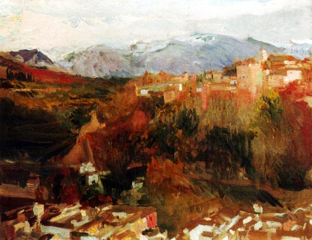 alhambra-joaquin-sorolla-y-bastida-peinture-andalousie
