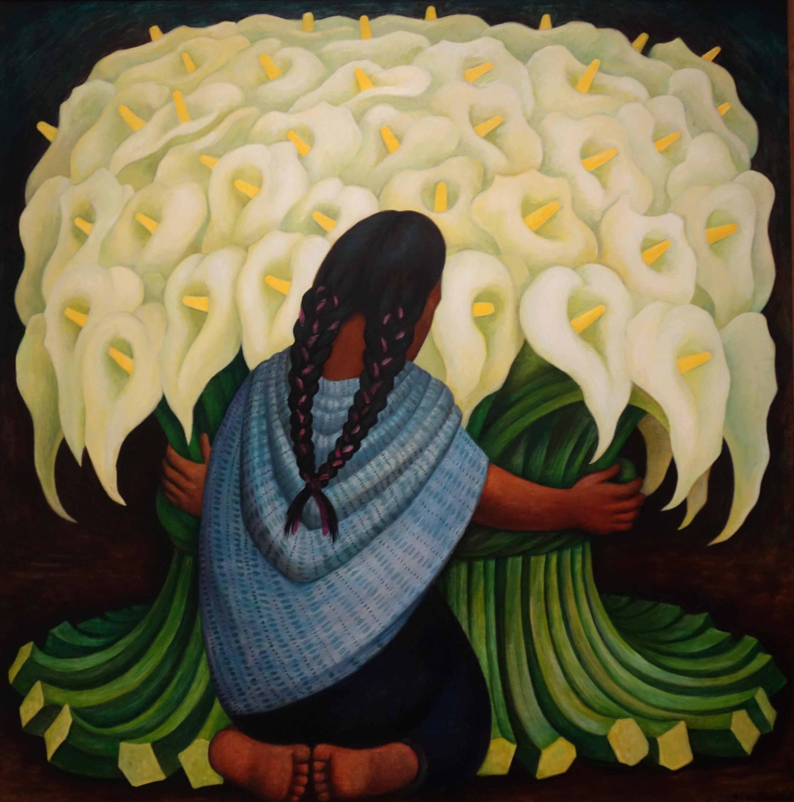 Diego Rivera. La rivière Juchitan, 1953-1955