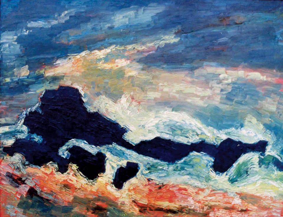 Albert Houthuesen (Artiste anglais né à Amsterdam, ) l'orage