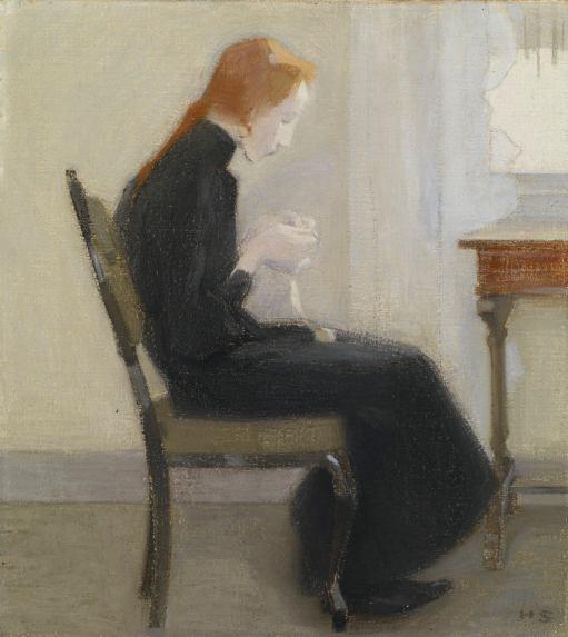 Helene Schjerfbeck Portrait de femme
