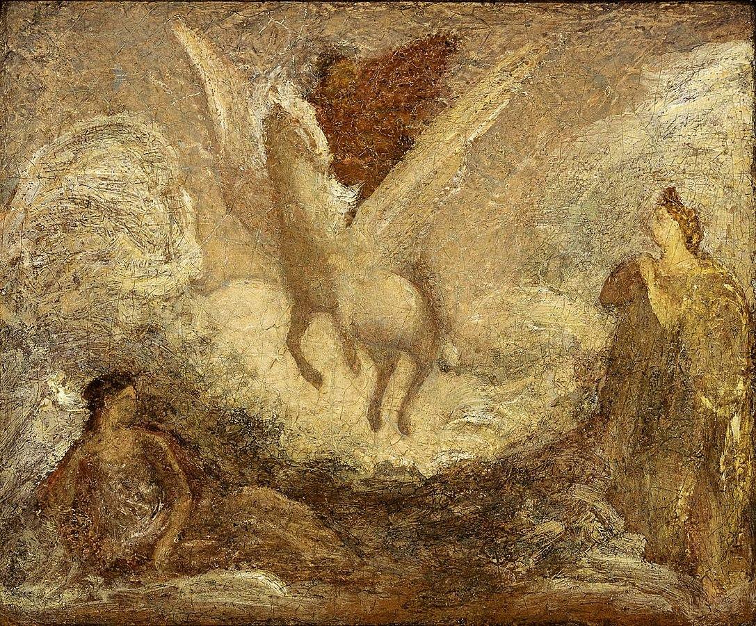 1087px-Albert_Pinkham_Ryder_-_Pegasus_Departing_-_1929.6.105_-_Smithsonian_American_Art_Museum