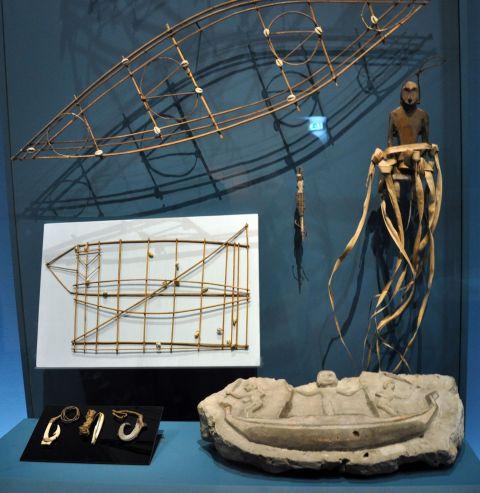 18 carte de navigation hameçons pierre de corail sculptée