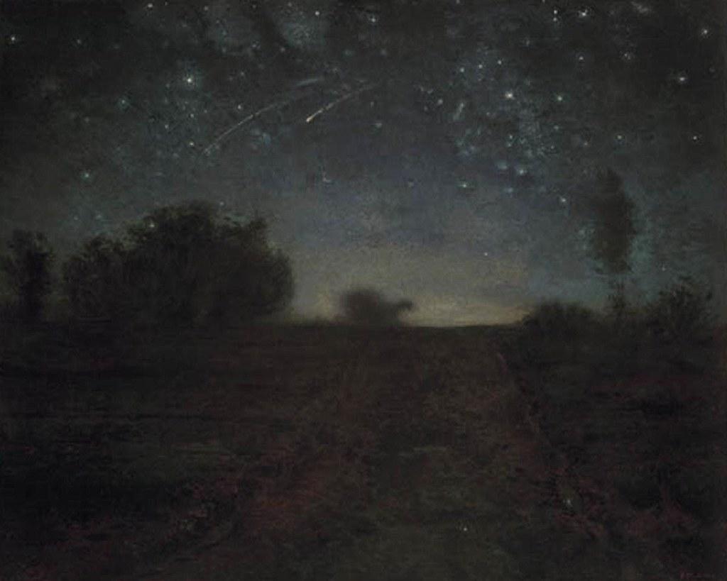 la nuit étoilée JF Millet