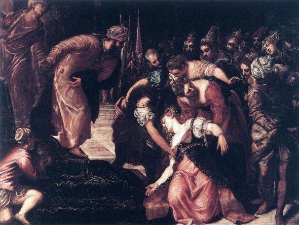 Tintoretto, Esther before Ahasuerus 1547f.jpg