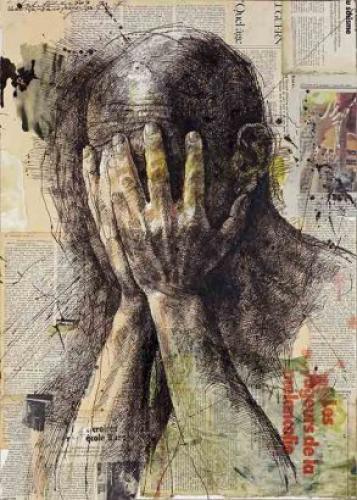 Safet Zec, Les mains sur le visage