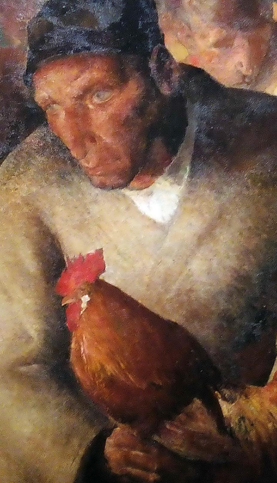 Anto Carte - L'homme au coq