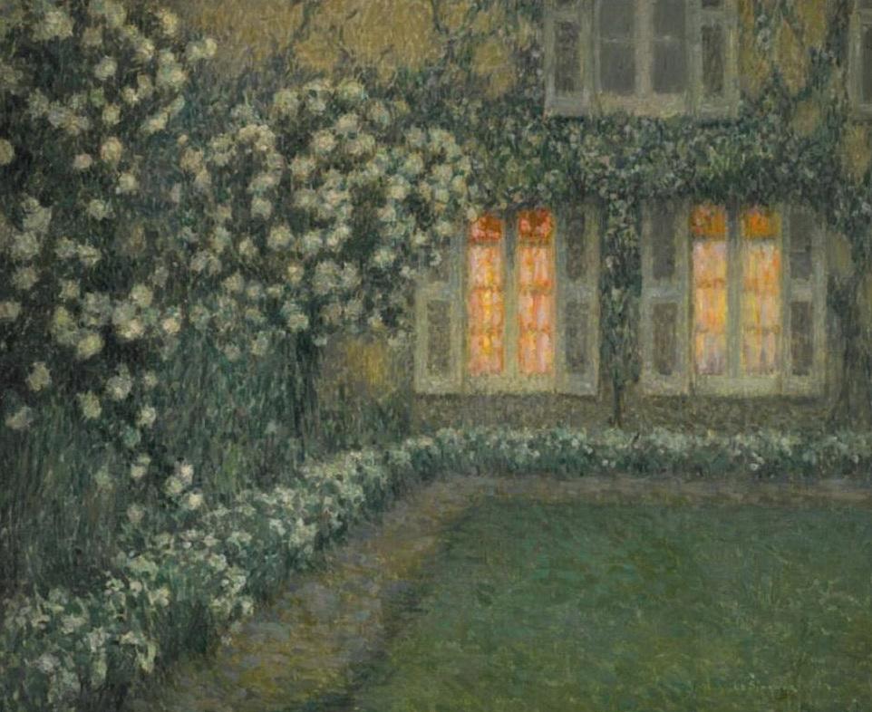 le-sidaner-le-jardin-blanc-au-crepuscule-1924