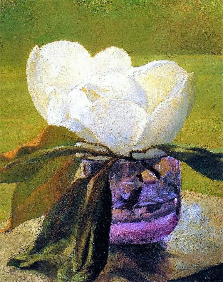 John La Farge - fleur de magnolia