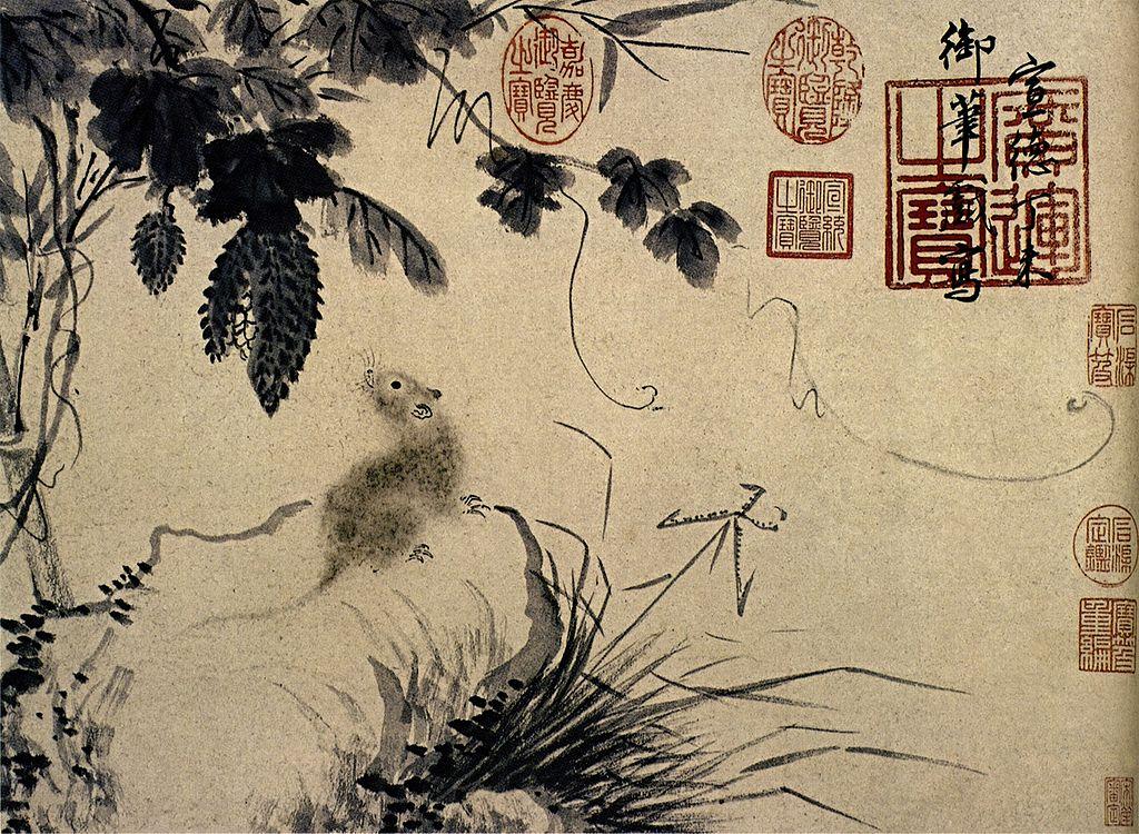 1024px-Zhu_Zhanji-Mouse_and_Stone