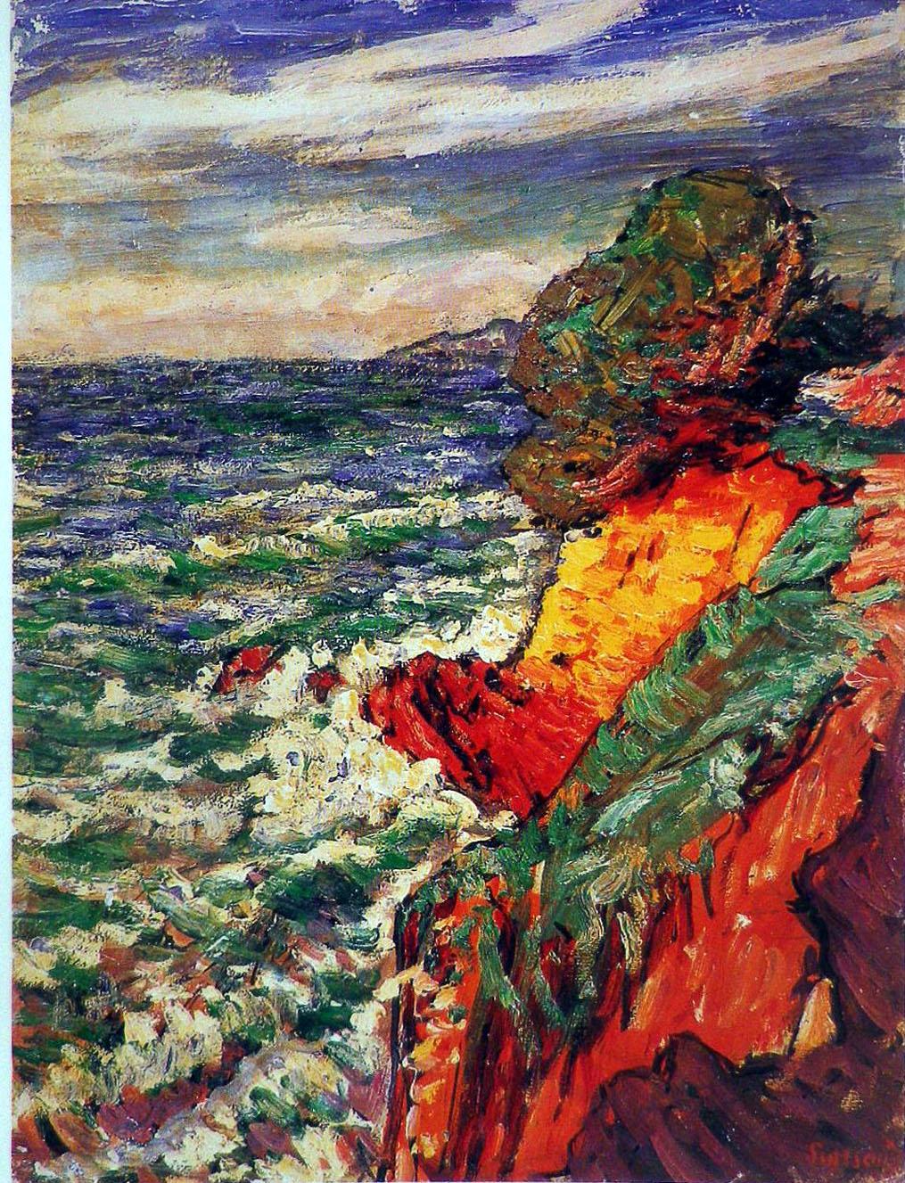 René Seyssaud marine à la Garonne 1902