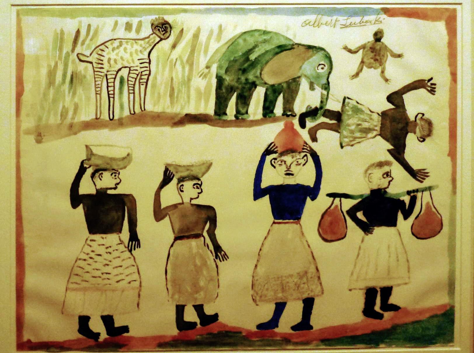 Cette image a un attribut alt vide; le nom du fichier est albert-lubaki-femmes-portant-nourriture-eau-1939-01.jpg